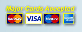 Payment by Cash or Card